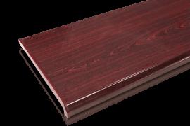 Большой ассортимент подоконников DANKE Premium в цвете махагон от лидера Белорусского рынка Е в квадрате
